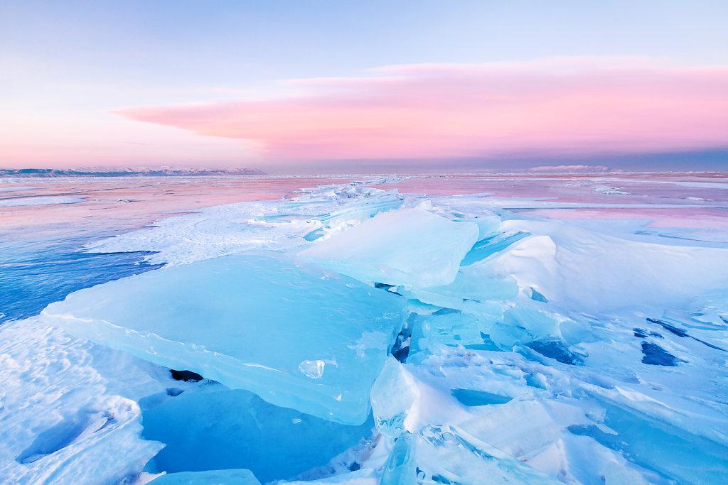 Ice Azure of Baikal