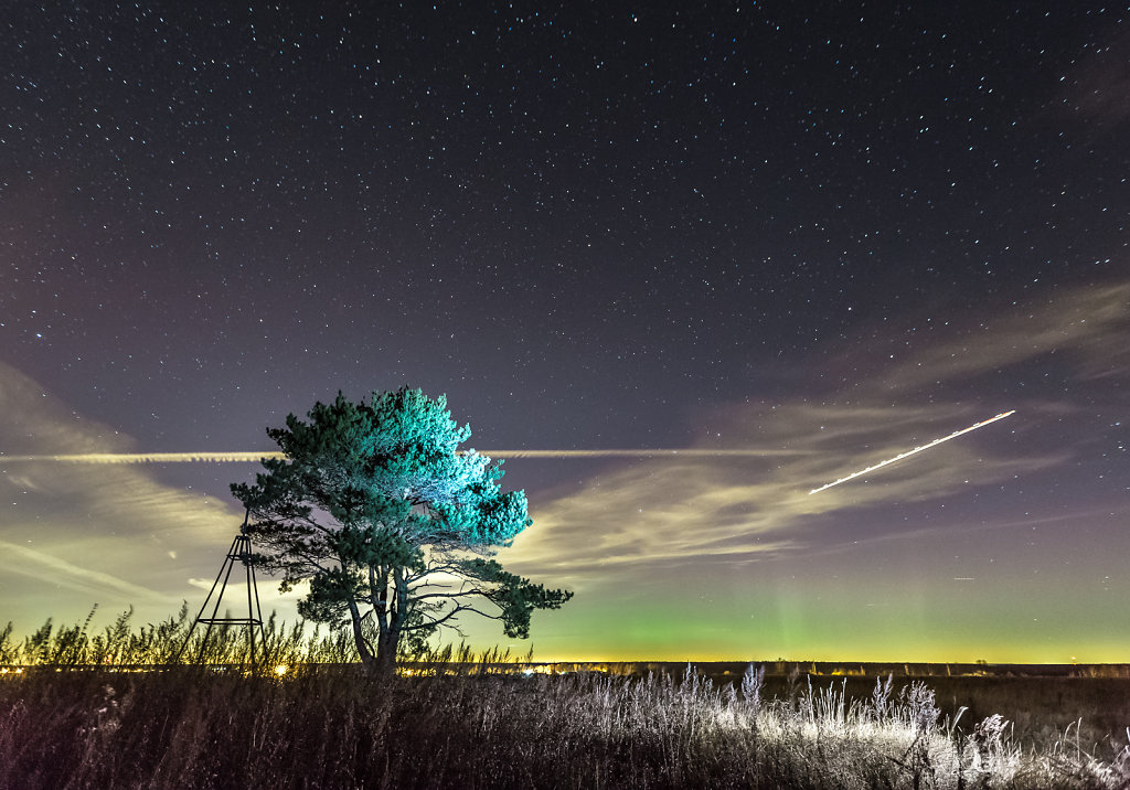 Aurora in Mid-latitudes